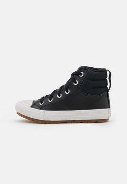 Converse - CHUCK TAYLOR ALL STAR BERKSHIRE UNISEX - Zapatillas altas - black/pale putty