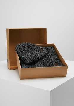 Only & Sons - ONSERIK BOX SCARF BEANIE  - Sjaal - black