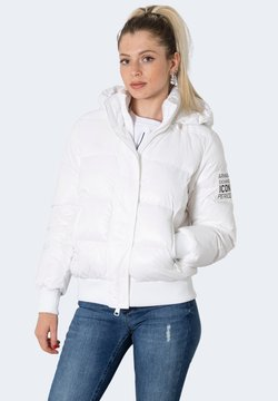 Armani Exchange - BLOUSON JACKET  - Winterjacke - white