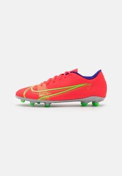 Nike Performance - MERCURIAL VAPOR 14 CLUB FG/MG - Voetbalschoenen met kunststof noppen - bright crimson/metallic silver