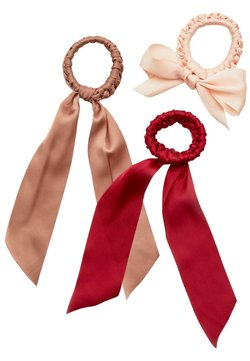 Stradivarius - 3 PACK - Accessori capelli - red