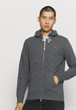 Levi's® - NEW ORIGINAL ZIP UP - veste en sweat zippée - charcoal heather