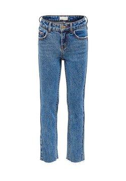 Kids ONLY - Straight leg jeans - dark blue denim