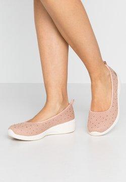 Skechers - ARYA - Ballerina's - rose metallic/offwhite/rose gold