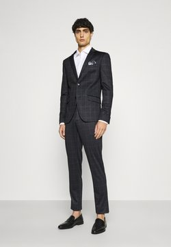 Lindbergh - CHECKED SUIT - Puku - black