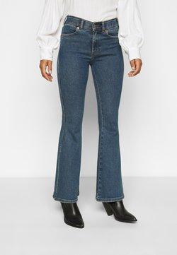 Dr.Denim Petite - MACY - Flared Jeans - stoker blue