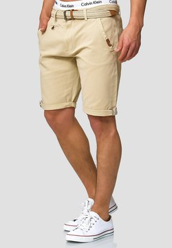INDICODE JEANS - CASUAL FIT - Short - fog