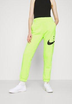 Nike Sportswear - PANT - Verryttelyhousut - volt/black