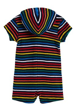 Next - NAVY STRIPE TOWELLING ALL-IN-ONE (3MTHS-7YRS) - Combinaison - red