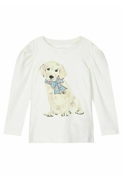 Name it - Camiseta de manga larga - snow white