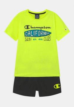 Champion - BEACHWEAR SET - Zwemshorts - yellow