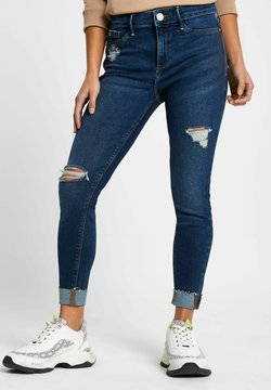 River Island Petite - MID RISE JEGGINGS - Jeans Skinny - blue