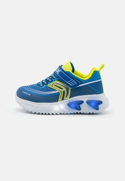 Geox - ASSISTER BOY - Sneaker low - royal/lime