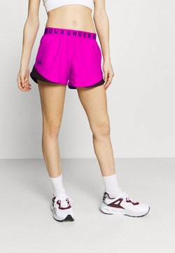 Under Armour - PLAY UP SHORTS - Pantalón corto de deporte - meteor pink