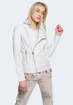 Desigual - CHAQ OSLO - Giacca in similpelle - white