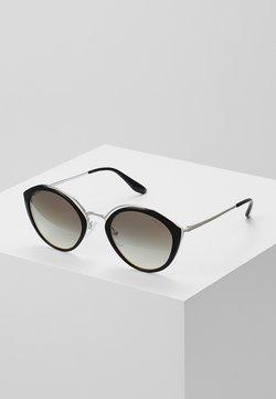 Prada - Lunettes de soleil - black/ivory/silver