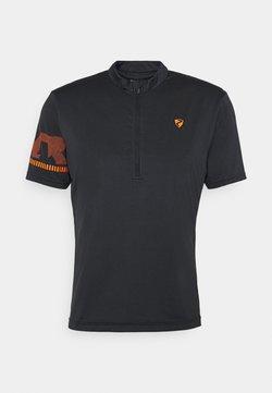Ziener - NOBUS MAN  - T-Shirt print - black