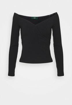 Guess - SONAY - Langarmshirt - jet black