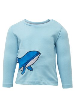 TOM TAILOR - MIT WAL-TASCHE - Longsleeve - sea/blue