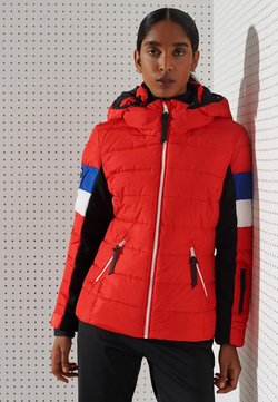 Superdry - ALPINE REVIVE PUFFER - Winterjacke - apple red