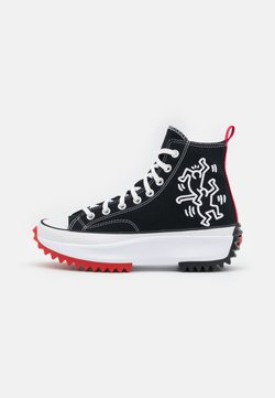 Converse - CONVERSE X KEITH HARING RUN STAR HIKE - Sneakers alte - black/white
