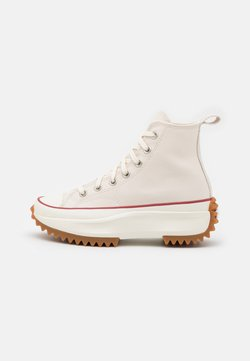 Converse - RUN STAR HIKE UNISEX - High-top trainers - parchment/egret/honey