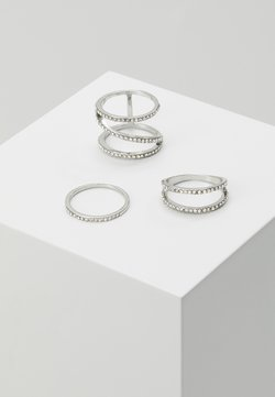 LIARS & LOVERS - ZIGZAG 3 PACK - Bague - silver-coloured