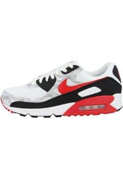 Nike Sportswear - AIR MAX 90  - Sneakers laag - white-black-university red