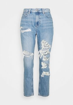 American Eagle - MOM - Jean slim - worn out blue