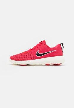 Nike Golf - ROSHE - Golfkengät - fusion red/black/sail