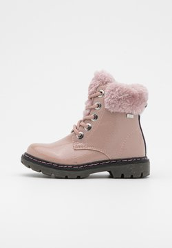 TOM TAILOR - Bottines à lacets - old rose