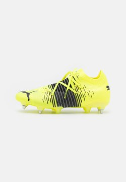 Puma - FUTURE Z 1.1 MXSG - Screw-in stud football boots - yellow alert/black/white