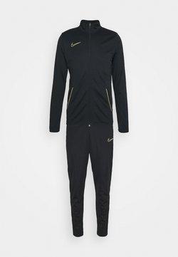 Nike Performance - DRY ACADEMY SUIT SET - Träningsset - black/saturn gold