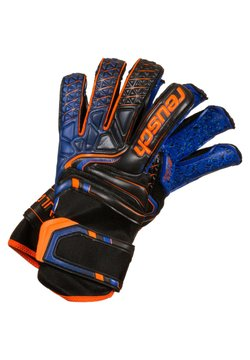 Reusch - Sormikkaat - black/ shocking orange / deep blue