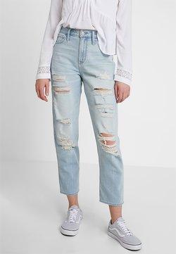 Hollister Co. - MAX DESTROY MOM - Jeans baggy - light-blue denim