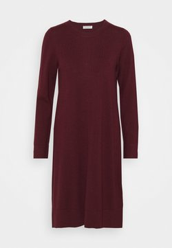 Repeat - DRESS - Vestido de punto - wine