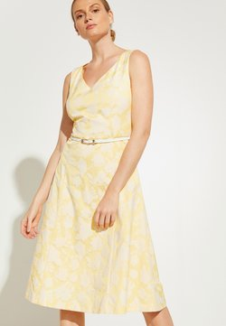 comma - Freizeitkleid - yellow