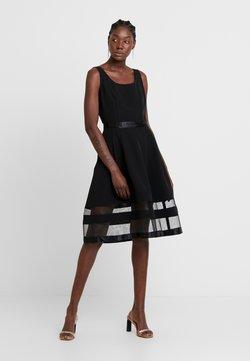 Apart - DRESS WITH ORGANZA - Cocktailkleid/festliches Kleid - black