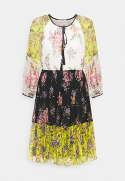 Derhy - SARDAIGNE - Freizeitkleid - black/yellow
