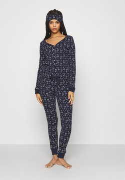 Anna Field - GIFTING JUMPSUIT - Pyjama - dark blue