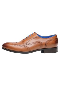 SHOEPASSION - NO. 5621 BL - Business-Schnürer - nut brown
