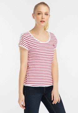 DreiMaster - T-Shirt print - red