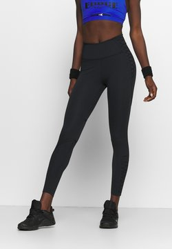 Nike Performance - ONE LUX 7/8 LACING - Tights - black