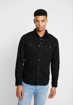 Levi's® - BARSTOW WESTERN STANDARD - Camisa - marble black denim rinse