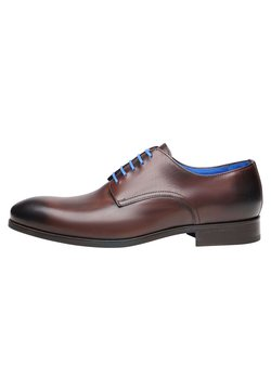 SHOEPASSION - NO. 5569 BL - Business-Schnürer - dark brown