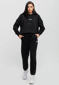 Tom Barron - MIT HOODIE - Trainingsanzug - schwarz