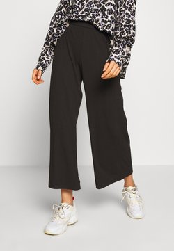 Monki - CILLA TROUSERS - Jogginghose - black dark