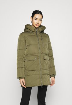 Tommy Jeans - HOODED  - Wintermantel - olive tree