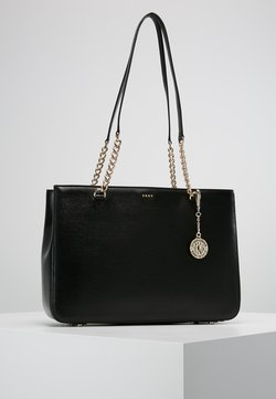 DKNY - BRYANT  - Shopping Bag - black/gold