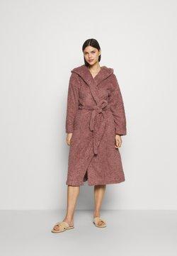 Marks & Spencer London - SHAGGY GOWN - Peignoir - brown
